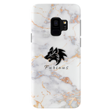 Furious Wolf Marble Cover Case For Samsung Galaxy S9