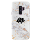Furious Wolf Marble Cover Case For Samsung Galaxy S9 Plus