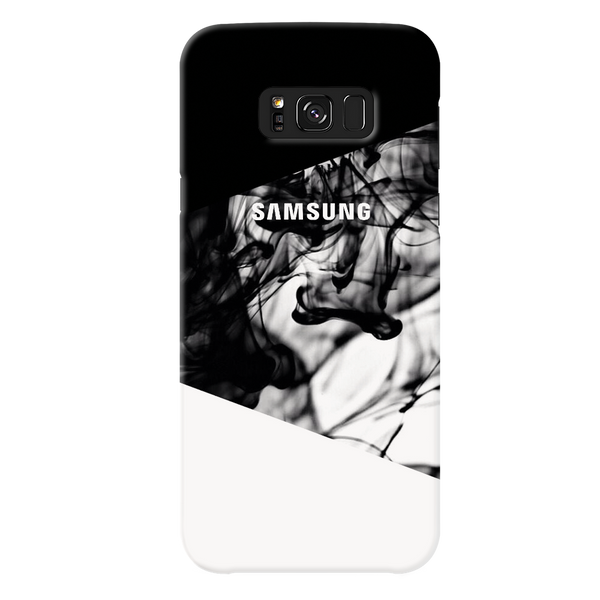 White Splash Cover Case For Samsung Galaxy S8