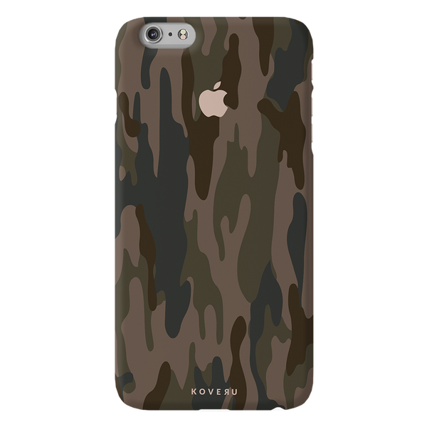 Army Camouflage Cover Case For iPhone 6/6S Plus