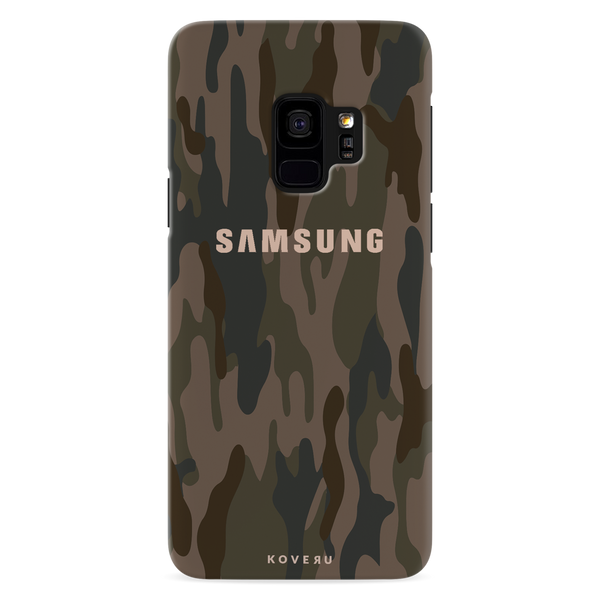 Army Camouflage Cover Case For Samsung Galaxy S9
