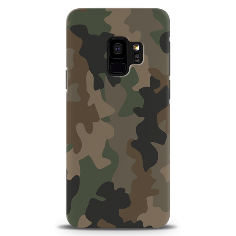 Army Abstract Camouflage Cover Case For Samsung S9
