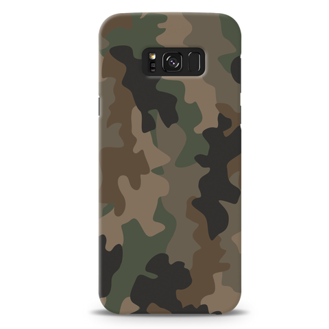 Army Abstract Camouflage Cover Case For Samsung Galaxy S8 Plus