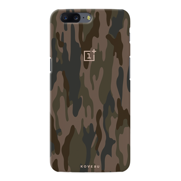 Army Camouflage Cover Case For OnePlus 5