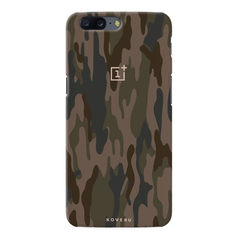 on sale d1492 a6045 Army Camouflage Cover Case For OnePlus 5