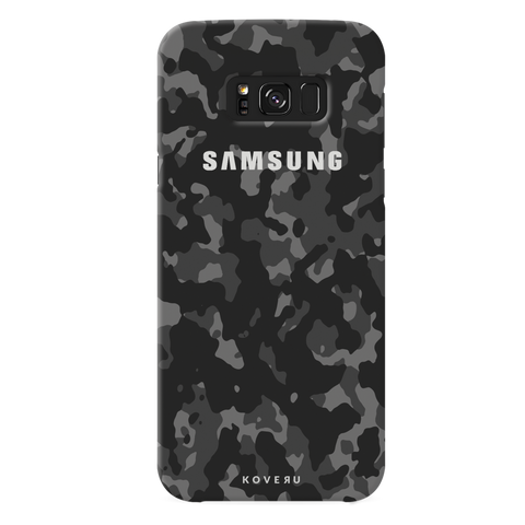 Black Camouflage Cover Case For Samsung GalaxyS8