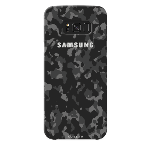 Black Camouflage  Cover Case For Samsung Galaxy S8 Plus