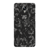 Black Camouflage Back Cover Case For  OnePlus 3/3T