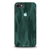Green Camouflage Design Back Cover Case For iPhone 7/8