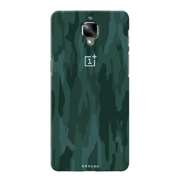 Green Camouflage Cover Case For  OnePlus 3/3T