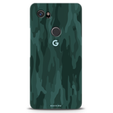 Green Camouflage Case For Google Pixel 2 XL