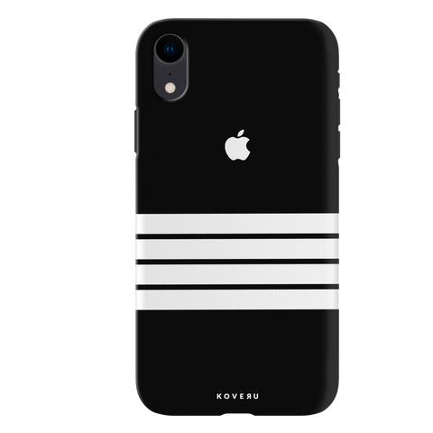 White Stripes Cover Case For iPhone XR