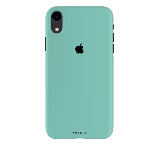 Turquoise Cover Case For iPhone XR