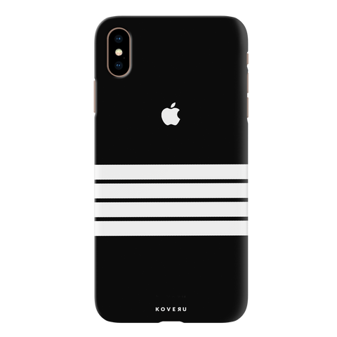 White Stripes Cover Case for iPhone XS Max