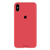 Red Back Cover Case for iPhone XS Max