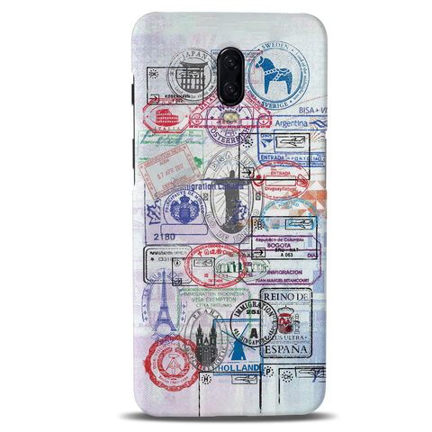 Stamps Cover Case for OnePlus 6T
