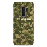 Yellow Camouflage Cover Case For Samsung Galaxy S9 Plus
