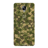 Yellow Camouflage Cover Case For  OnePlus 3/3T