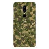 Yellow Camouflage Cover Case For OnePlus 6