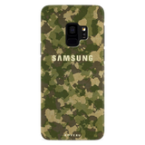 Yellow Camouflage Cover Case For Samsung Galaxy S9