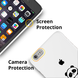 Love for Panda Cover Case For iPhone 6/6S Plus