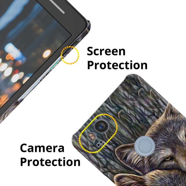 Wolf Cover Cases For Google Pixel 2