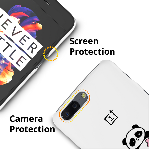 Love for Panda Cover Case For OnePlus 5