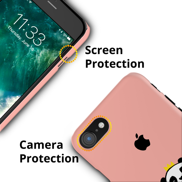 Say Hello to Panda Cover Case For iPhone 7/8