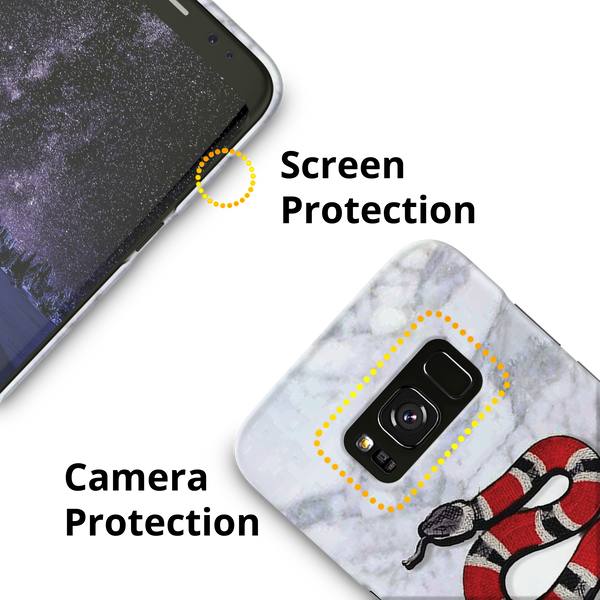 Kingsnake Cover Case for Samsung galaxy S8