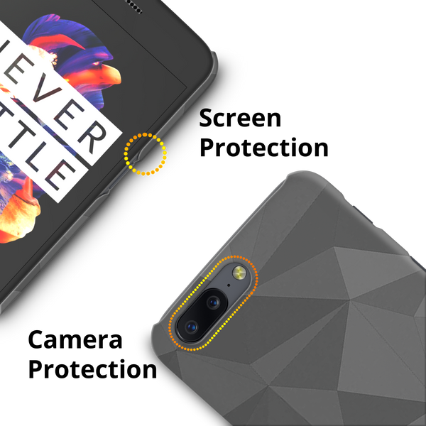 Polygon Edges Cover Case for OnePlus 5
