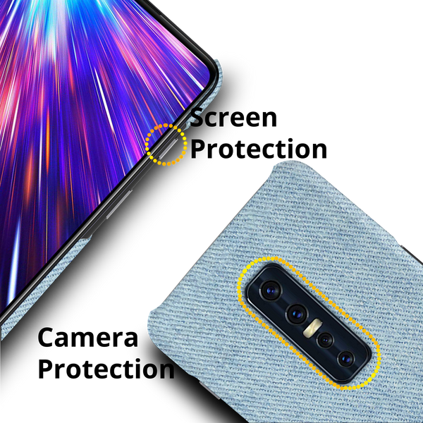 Blue Jeans Cover Case for Vivo V17 Pro