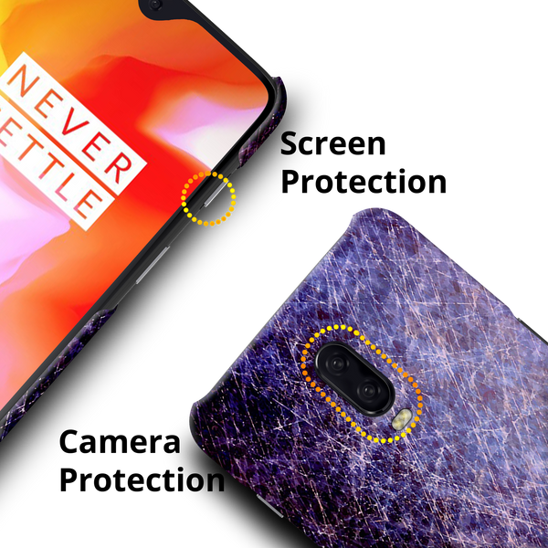 Fireworks Marble Cover Case for OnePlus 6T