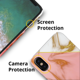 Close Up Marble Cover Case for iPhone X