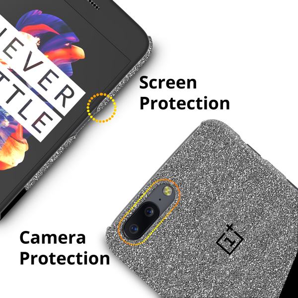 Plaid Cover Case for OnePlus 5