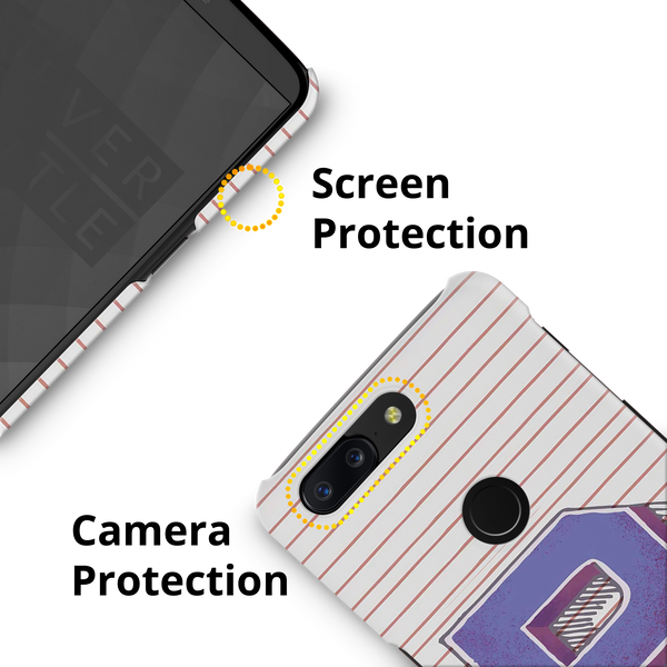 P Monogram Cover Case for OnePlus 5T