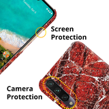 Glazed Marble Cover Case for Redmi A3