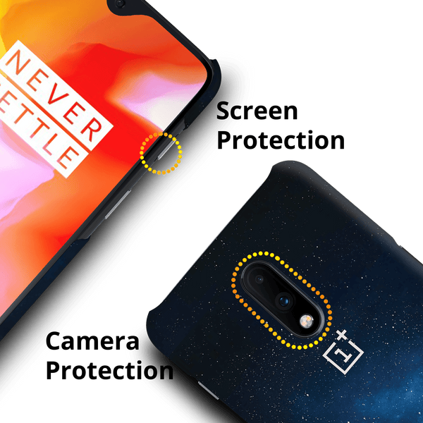 Glowing Stars Cover Case for OnePlus 7