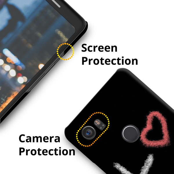 Love all Around Cover Case for Google Pixel 2 XL