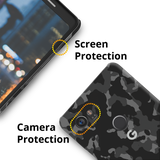 Black Camouflage Cover Case For Google Pixel 2 XL