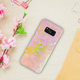 Lovely Pink Marble Cover Case For Samsung Galaxy S8