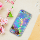 Opal Marble Cover Case For iPhone 6/6S