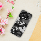 Black Abstract Camouflage Cover Case For Samsung Galaxy S8 Plus