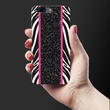 White Zebra Pattern Cover Case for OnePlus 5