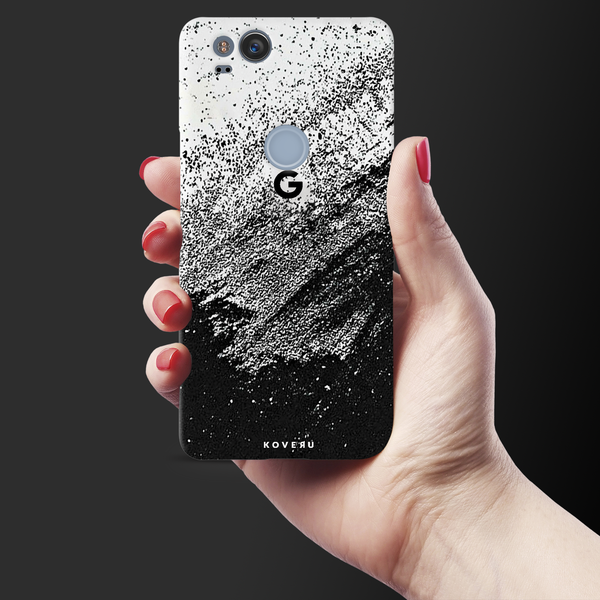 Distressed Overlay Texture Cover Case for Google Pixel 2