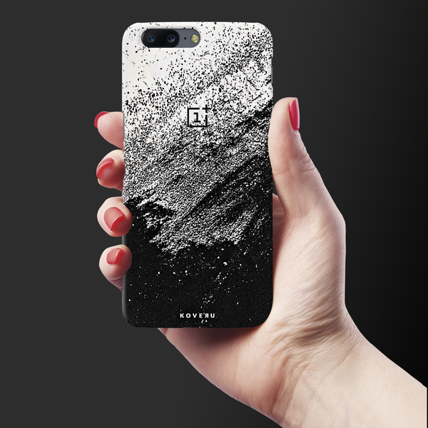 Distressed Overlay Texture Cover Case for OnePlus 5