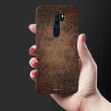 Leather Print Cover Case for Oppo A5 2020