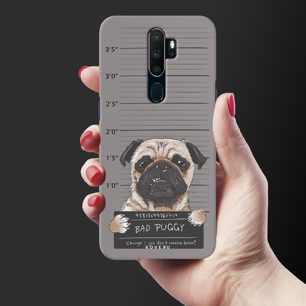 Bad Pug Cover Case for Oppo A5 2020