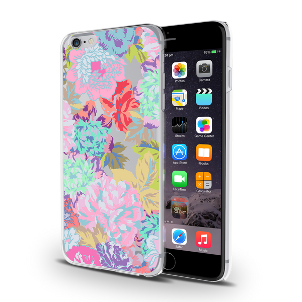 Tropical Vibes Clear Case for iPhone 6/6S