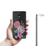 Monsoon flowers Clear Case for OnePlus 3/3T
