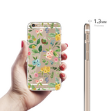 Watercolor Florals Clear Case For iPhone 6/6S Plus
